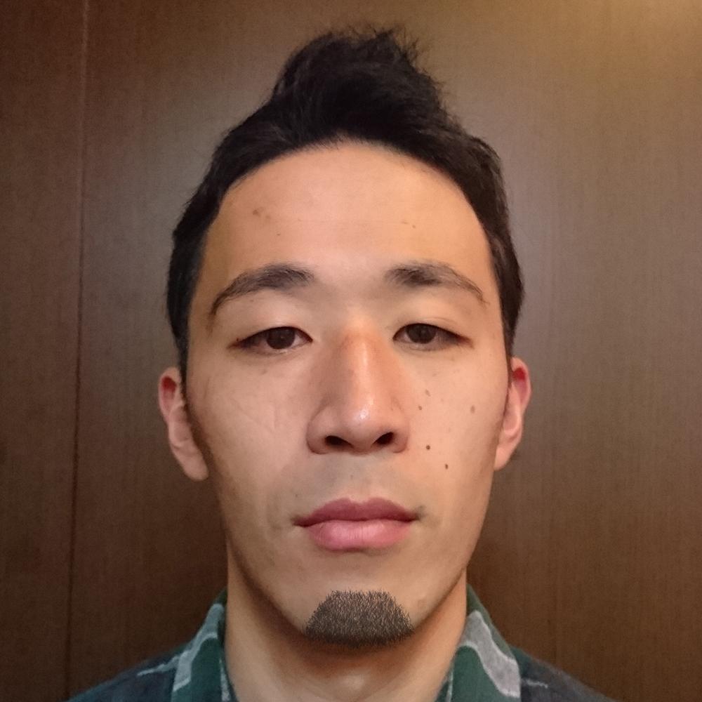 台形型顎髭