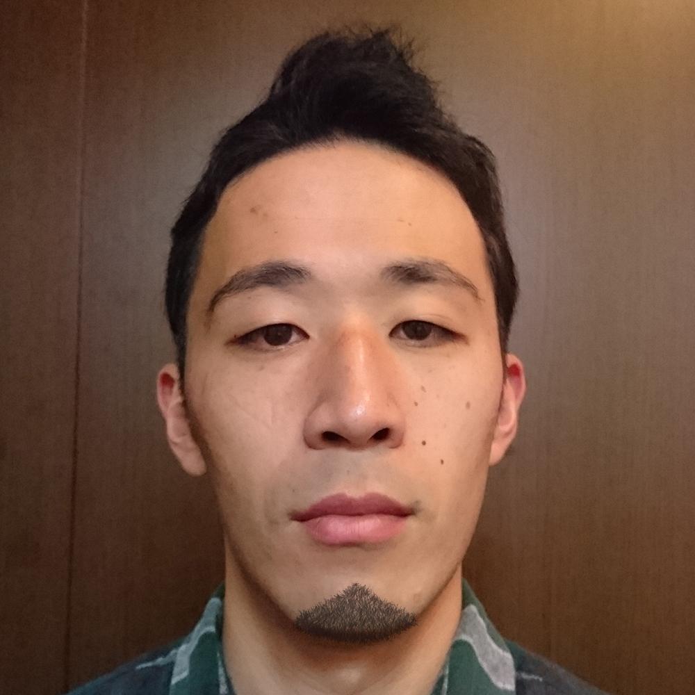 三角型顎髭